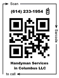Handyman                                   Services in Columbus call now QR code
